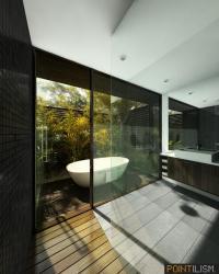 ห้องน้ำแต่งให้เข้ากับธรรมชาติ