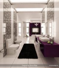 ห้องน้ำหลากสีสัน แนวโมเดิร์น ส่วนบุคคล