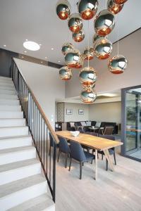 อพาร์ทเม้นที่สวยหรูและการออกแบบที่น่าสนใจ