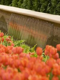 จัดสวน ตกแต่งสวนสวยด้วยน้ำพุ