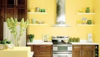 การเลือกใช้สีภายในห้องครัว สำหรับธาตุดิน
