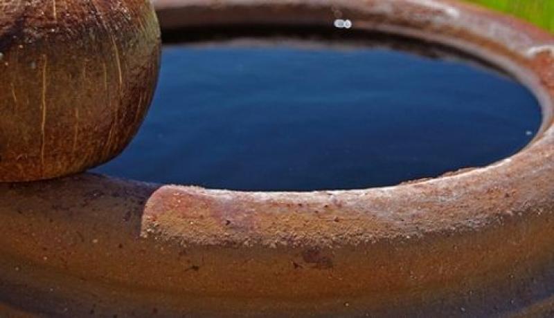 เสริมฮวงจุ้ยด้วยโอ่งน้ำโบราณ